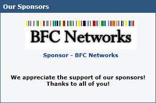 site server sponsors prizes